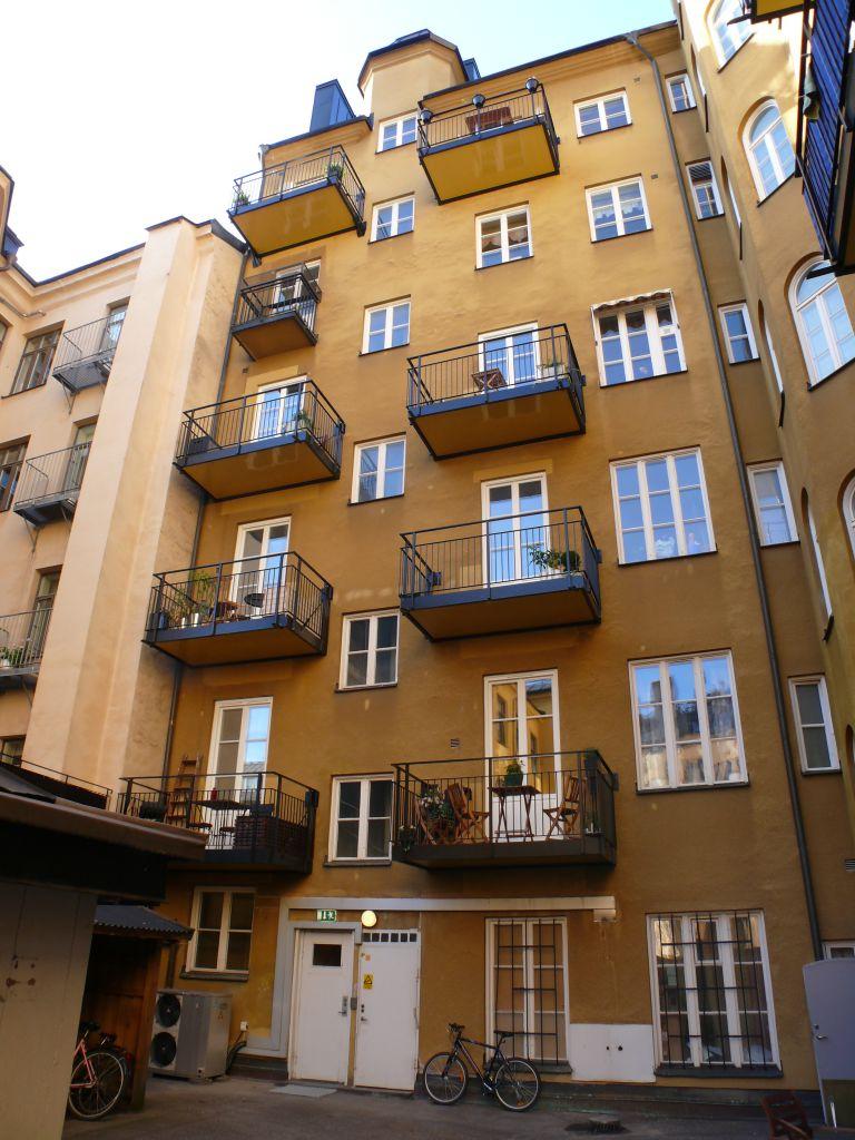 Balkonger på Kungsholmen
